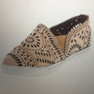 JEFFREY CAMPBELL: Leather Slip Ons